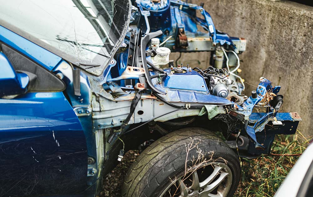 過去に起こした事故のトラウマ